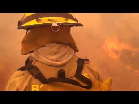 INCENDIO FORESTAL EN MELIPILLA, CHILE / Vídeo Destacado de La Hermandad de Bomberos