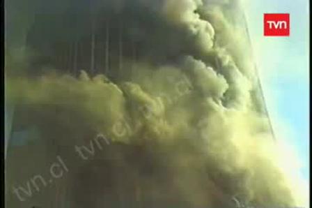 Incendio Torre Santa María