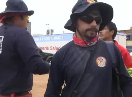 SAR CHILE Y SU TRABAJO DE RESCATE EN IQUIQUE, CHILE