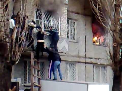 Rescate de Incendio Estructural / Makhachkala, Rusia