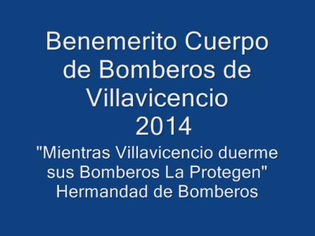 BOMBEROS VILLAVICENCIO 2014