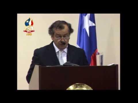 BOMBEROS DE CHILE 25 AÑOS DE LA ACADEMIA NACIONAL - CHARLA ETICA BOMBERIL DE MARIO BANDERAS