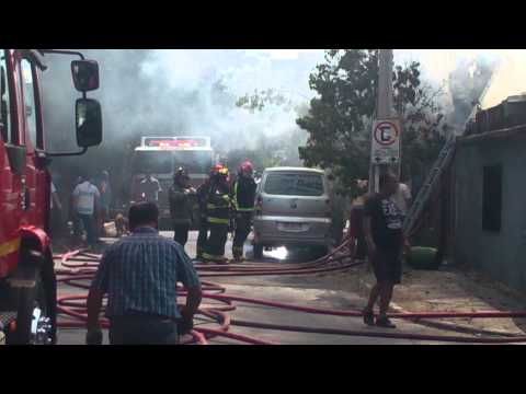Incendio cbms santa ester y cabildo