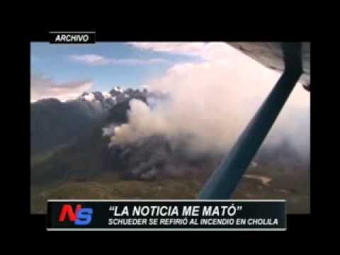 "INCENDIO FORESTAL EN ""CHOLILA"" 2015 - PROVINCIA DE NEUQUEN EN ARGENTINA"