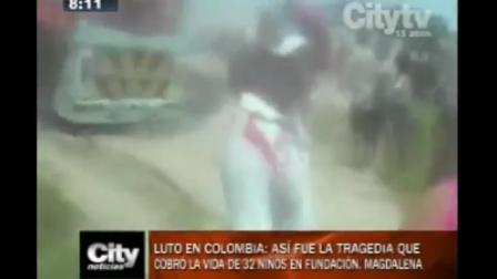 TRAGEDIA DEL INCENDIO´DEL BUS ESCOLAR EN EL QUE MURIERON 33 NIÑOS - FUNDACIÓN, COLOMBIA