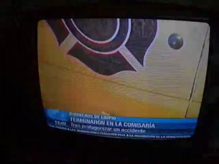 BOMBEROS DE LA 18ª COMPAÑIA SAN JOSE DE LIMPIO SUFREN ACCIDENTE Y TERMINAN DEMORADOS EN LA COMISARIA- PARAGUAY