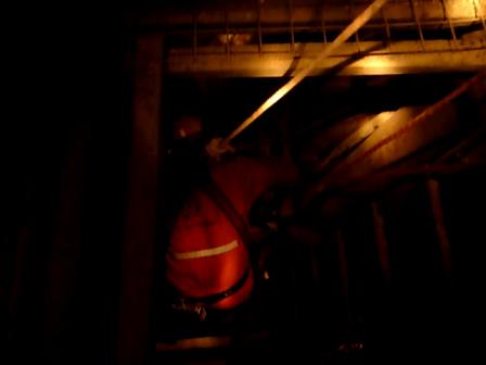 Rescate de accidentado 60m de profundidad