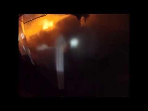 Incendio en Deposito de Chatarras Nogales (Vista Primera Persona) - Chile