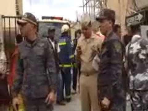 Varios afectados por incendio en un edificio de la Tiradentes, S.D. Rep. Dom.