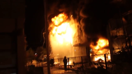 ABRIL 2014 - VÍDEO COMPLETO: INCENDIO FABRICA CRAMER BOMBEROS MAIPU