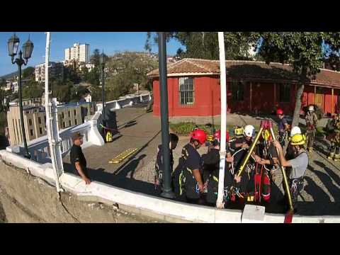 MANIOBRAS GRIMP BOMBEROS VALPARAISO - CHILE / Vídeo Destacado de La Hermandad de Bomberos