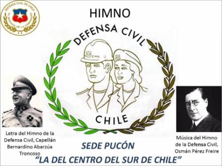 HIMNO DEFENSA CIVIL DE CHILE LETRA