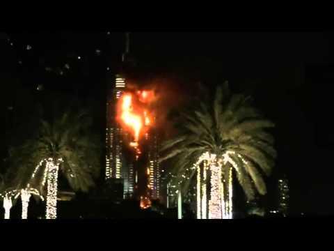 Dubai Skyscraper Burns Ahead of New Year's