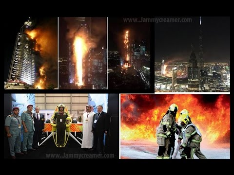 DUBAI HOTEL FIRE AT THE ADDRESS HOTEL NEW YEARS EVE | 2016 | ONE PERSON DEAD