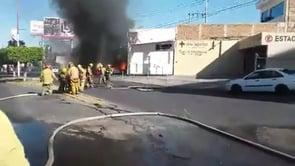 INCENDIO PIPA DE GAS, RESPONDE H. CUERPO DE BOMBEROS TONALA EN JALISCO - MÉXICO / Video Destacado de La Hermandad de Bomberos