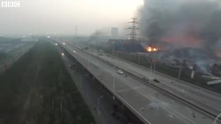 IMAGEN AÉREA: EXPLOSIÓN EN TIANJIN - CHINA  / Video Destacado de La Hermandad de Bomberos