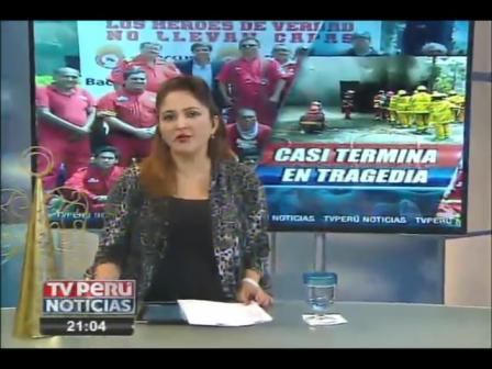 BOMBERO HERIDO CON QUEMADURAS EN ROSTRO Y CUERPO DURANTE ENTRENAMIENTO - PERÚ / Vídeo Destacado de La Hermandad de Bomberos