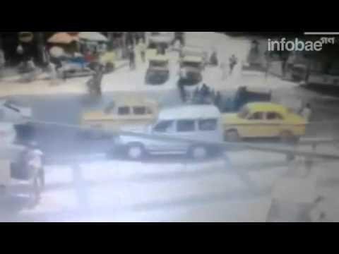 14 MUERTOS CAUSA CAÍDA DE UN PUENTE EN CONSTRUCCIÓN EN CALCUTA QUE ES REGISTRADO EN VÍDEO - INDIA