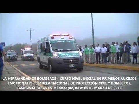 """CURSO PAE NIVEL INICIAL """"PRIMEROS AUXILIOS EMOCIONALES"""" - CHIAPAS"""