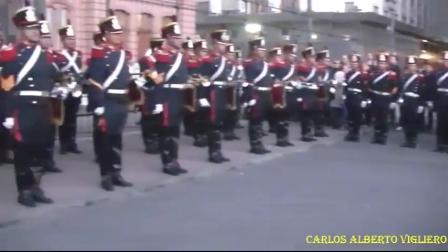 HOMENAJE DE LOS GRANADEROS A BOMBEROS VOLUNTARIOS - ARGENTINA / Vídeo Destacado de La Hermandad de Bomberos