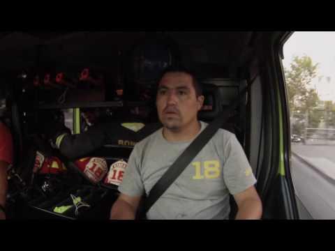 ABORDO: H-18 CBS CUERPO DE BOMBEROS DE SANTIAGO, 3ra ALARMA DE INCENDIO - SANTIAGO, CHILE