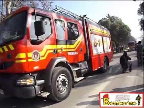 desfile carros de bomberos en san pedro de melipilla