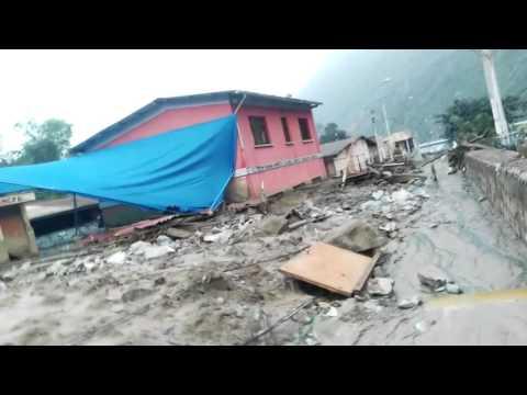 DESASTRE EN PERU: PUEBLOS ARRASADOS EN LA SIERRA (MARZO 2017)