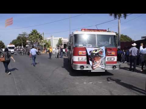 CON HONORES DAN ULTIMO ADIÓS AL BOMBERO DE GUASAVE FALLECIDO EN ACCIDENTE - MÉXICO