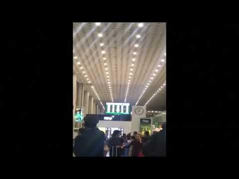 ASI SE VIVIO EN EL AEROPUERTO DE CDMX EL TERREMOTO - MÉXICO