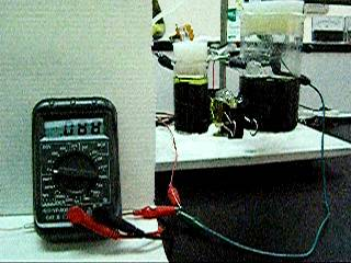 ...celda de combustible microbiana... para purificar el agua del acueducto i generar electricidad casera...