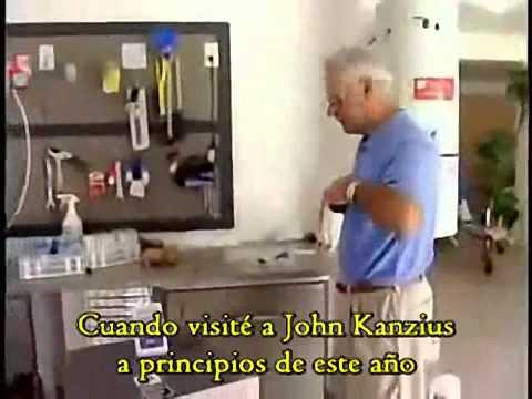 John Kanzius  Agua Salada como Combustible y  Cura del Cancer