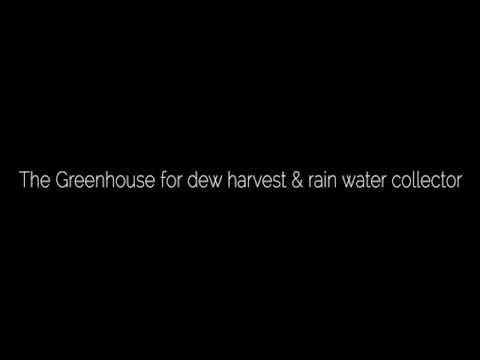 ...Condensador de Agua para Huertas en el Desierto...*...Roots Up solutions - Water collector in a greenhouse...