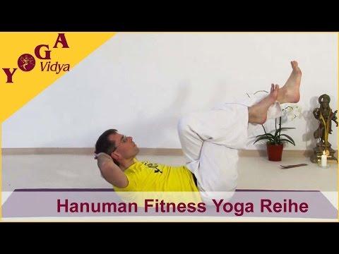 Erlerne die Hanuman Fitness Reihe