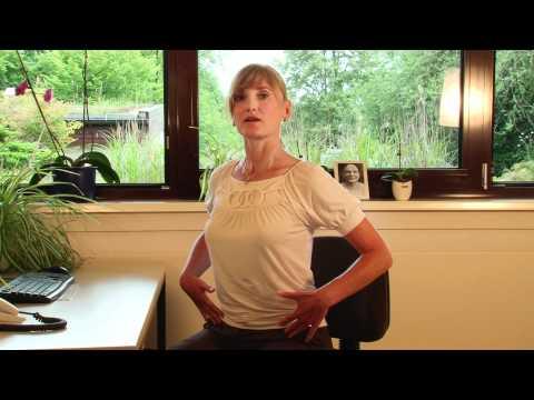 Businessyoga Übungsreihe: Nacken Übungen