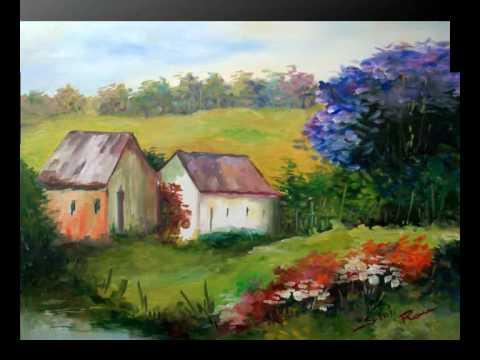 "Regina F. Rau - ""Tanz der Farben""-Galerie: Ölgemälde, Acryl, Illusionsmalerei"