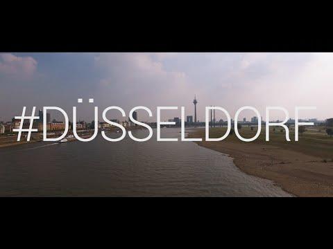 Sehr schönes Video von Düsseldorf mit einer Drohne aufgenommen.