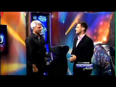 FOX 5 Las Vegas: Taylor Hicks on Celebrity Spin Zone