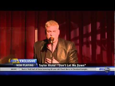 LIVE Look in to Taylor Hicks concert