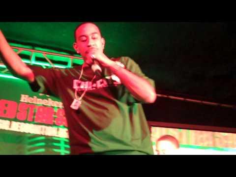 Ludacris Freestyle at Heineken Red Star Soul Tour