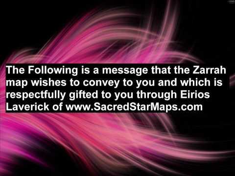Zarrah, Sacred Star Maps
