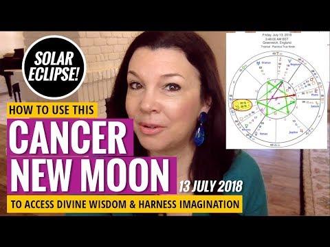 Cancer New Moon Solar Eclipse: Imagination Flows & Abundance Grows (July 2018)
