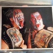 Wrestling - 2 (IP Autograph)