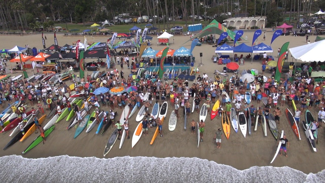 Battle Of the Paddle 2012 Aerial Filming of Stand Up Paddleboard Surfing Comp for SURFTECH SUP
