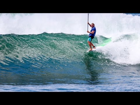 SUP Surfing Lizard Island