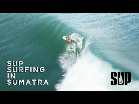 SUP Surfing in Sumatra