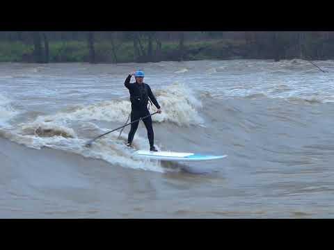 Du stand-up paddle sur le gave de Pau !