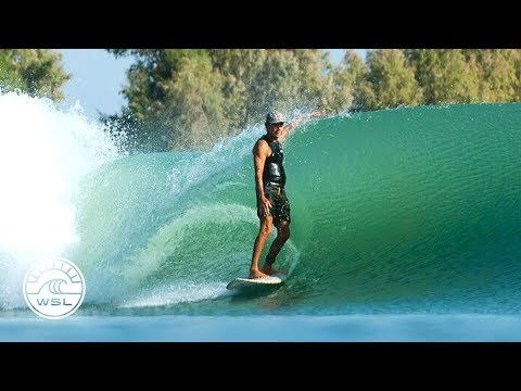 Gerry Lopez Gets First Crack at Kelly Slater's Left