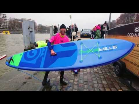 STAND-UP PADDLE IN PARIS
