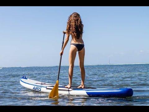 ALICE ARUTKIN and TATIANA WESTON - SUP & Surfing in Maui, Hawaii