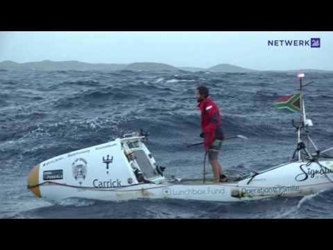 Chris Bertish: SUP-legende terug die Kaap verwelkom